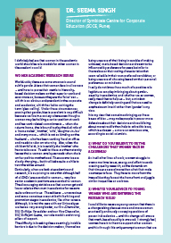 Image of IWD Interview - Dr. Seema Singh